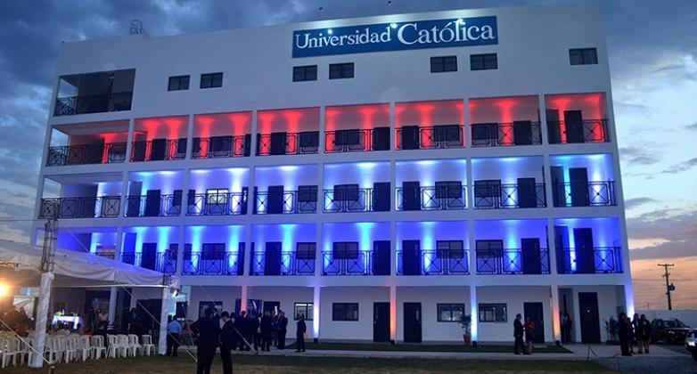 Inauguran nuevo edificio de la UC en Guarambaré