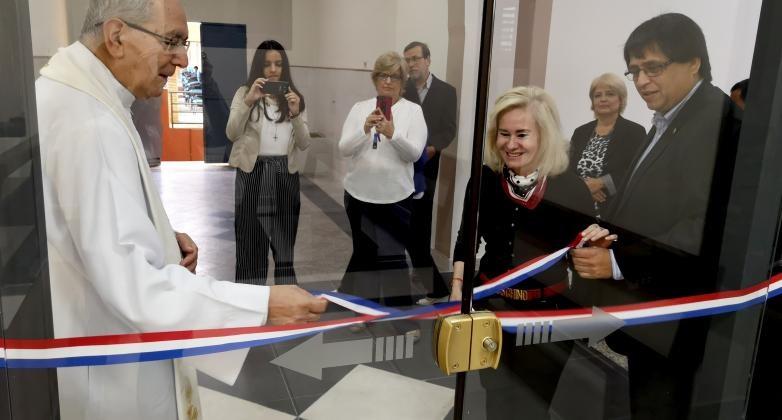 Se inauguró la ampliación de la Capilla en la Sede del Rectorado Rectorado