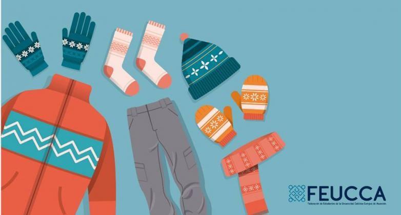 Campaña colecta de abrigos lanza la FEUCCA