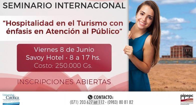 Seminario Internacional de Turismo en Encarnación
