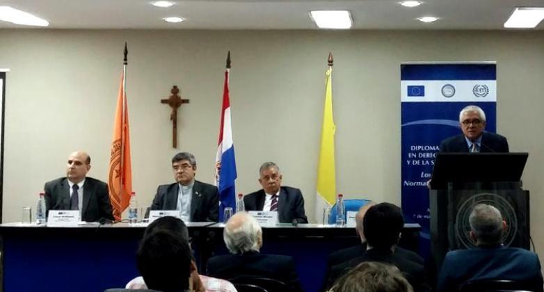 """Presentación del Diplomado """"Derecho del Trabajo y de la Seguridad Social»"""