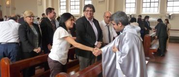 Celebran misa por aniversario 81o. de Radio Cáritas