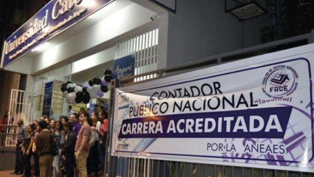 Acredita Contador Público de Encarnación Itapúa