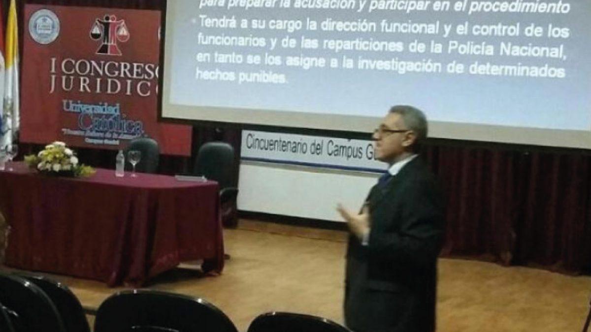 Primer Congreso Jurídico organizan estudiantes