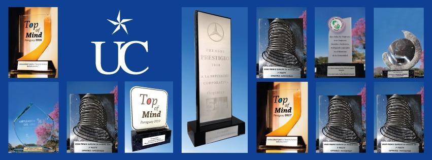 Estrellas de la excelencia, premios otorgados a la UC