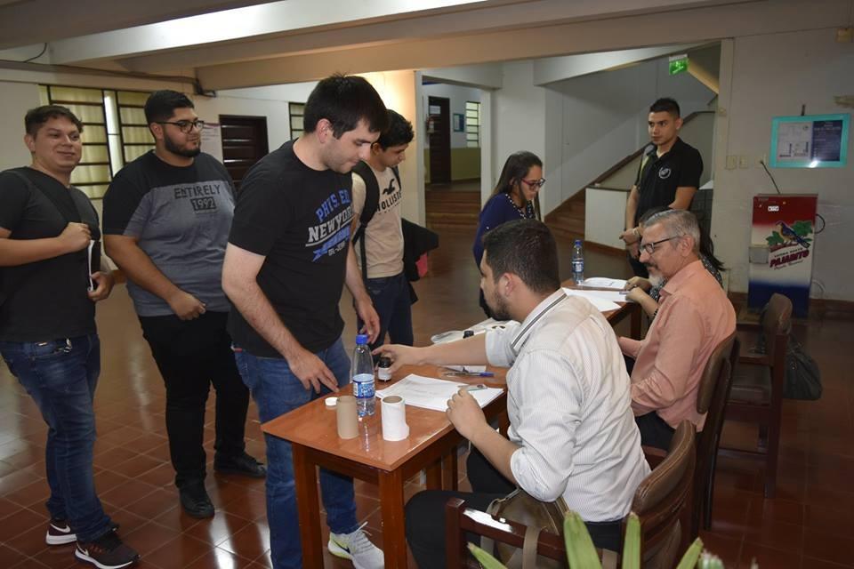 Elecciones estudiantiles en campus Itapúa