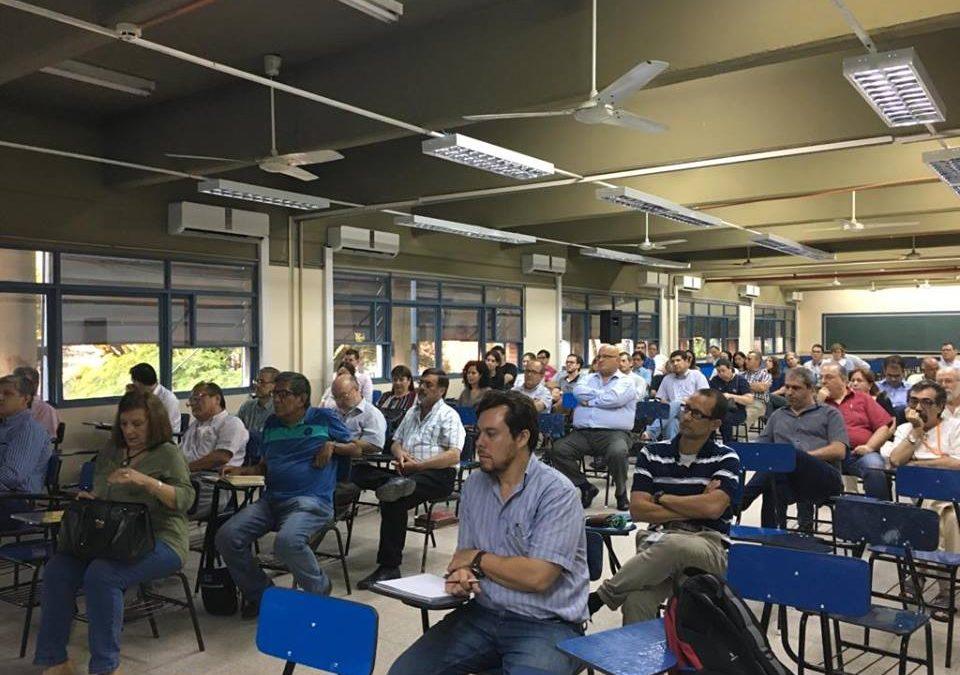 Facultad de Ciencias y Tecnología realizó claustro docente