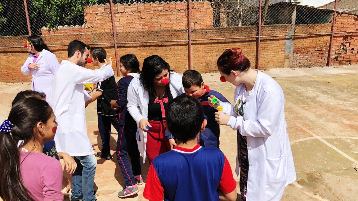 Estudiantes de Enfermería de Pedro Juan Caballero realizan trabajos comunitarios