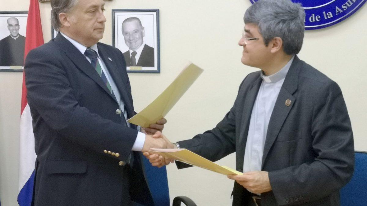 Universidad Católica firma convenio de cooperación con la Universidad del Salvador