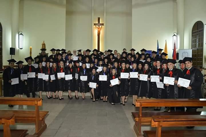 Ceremonia de Graduación de la Unidad Pedagógica de Carapeguá