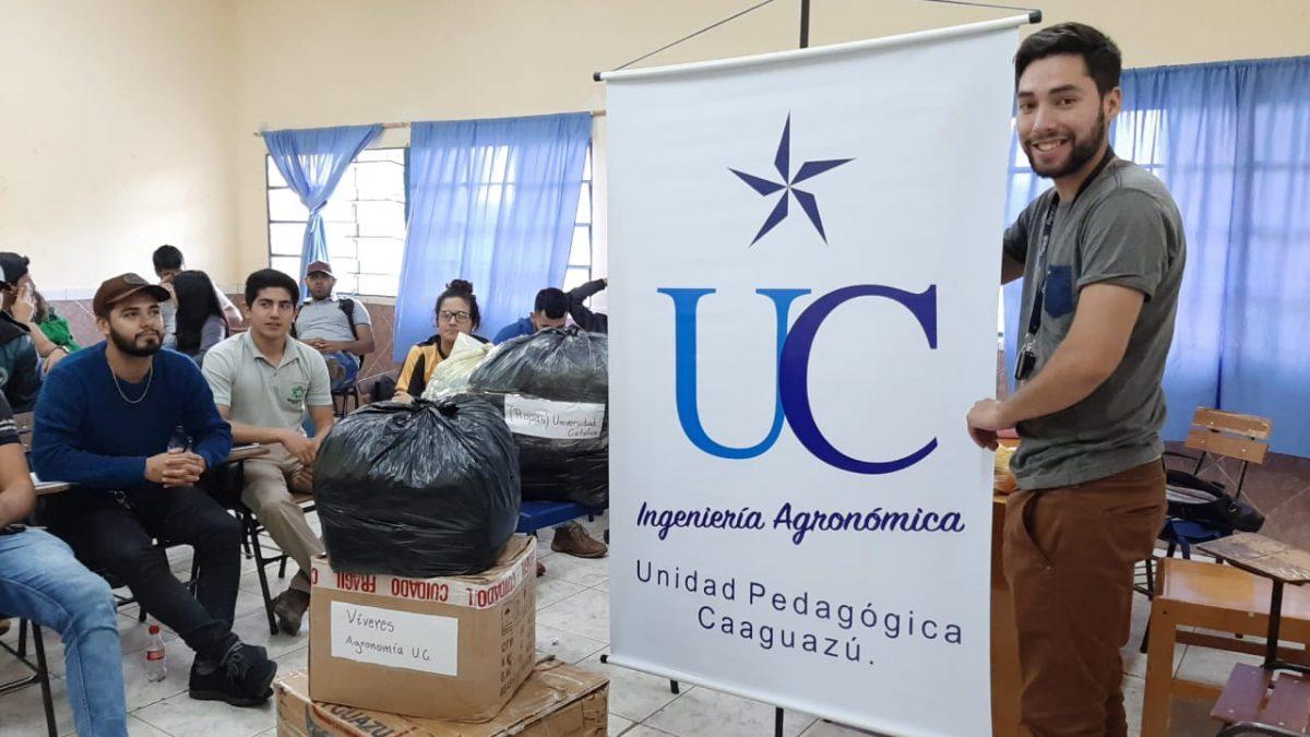 Colecta solidaria para los afectados de las inundaciones en Pilar