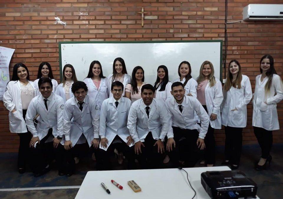 Estudiantes de Kinesiología de Guairá finalizan pasantías hospitalarias