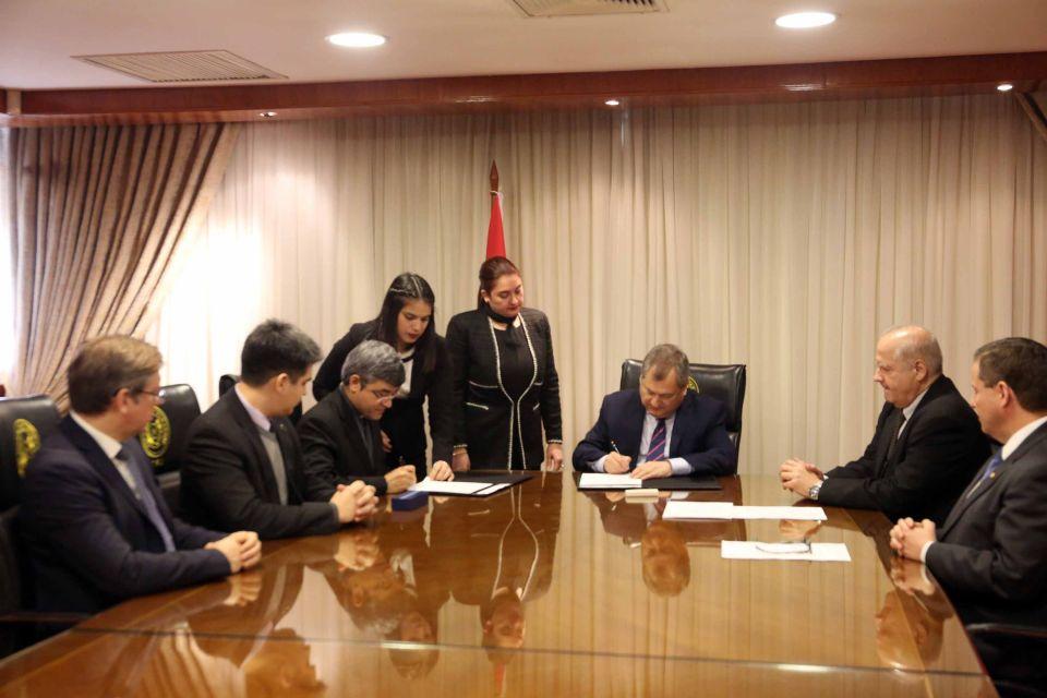 UC y la Corte Suprema de Justicia firman acuerdo de cooperación