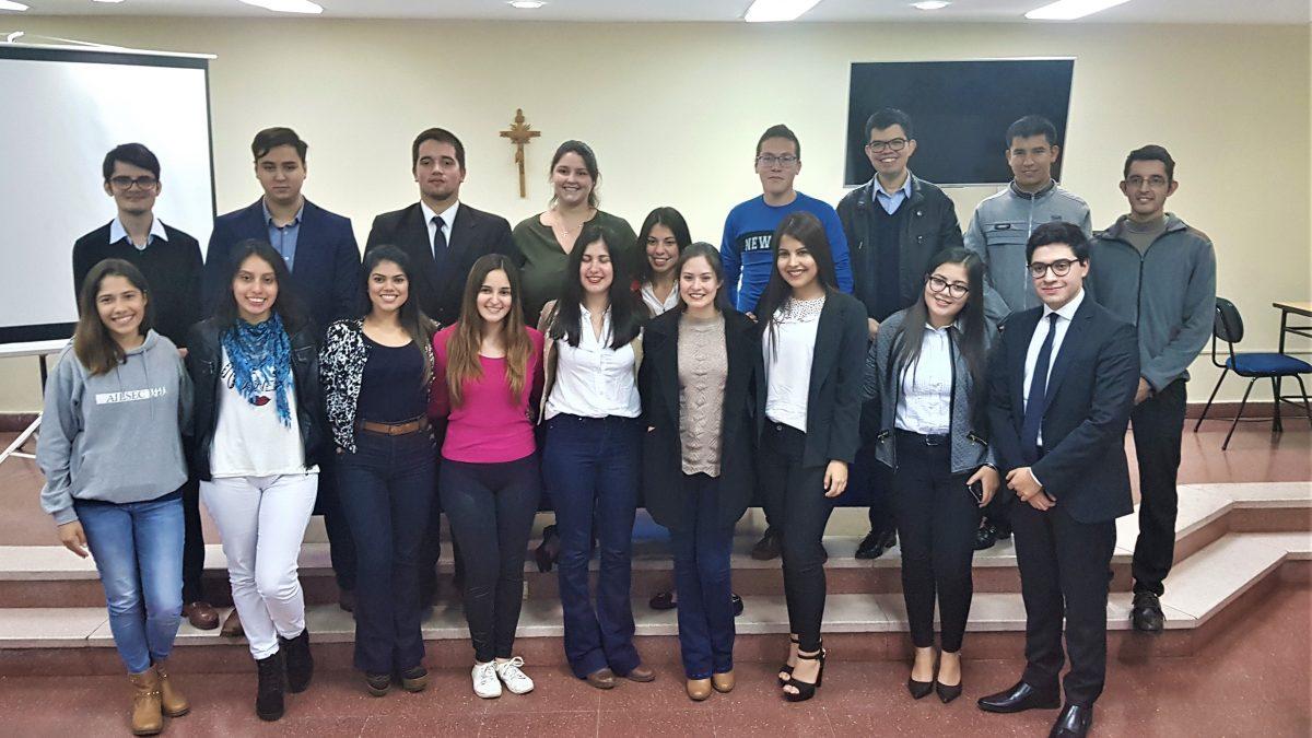 Autoridades Estudiantiles de la UC eligieron Representante ante el CONES