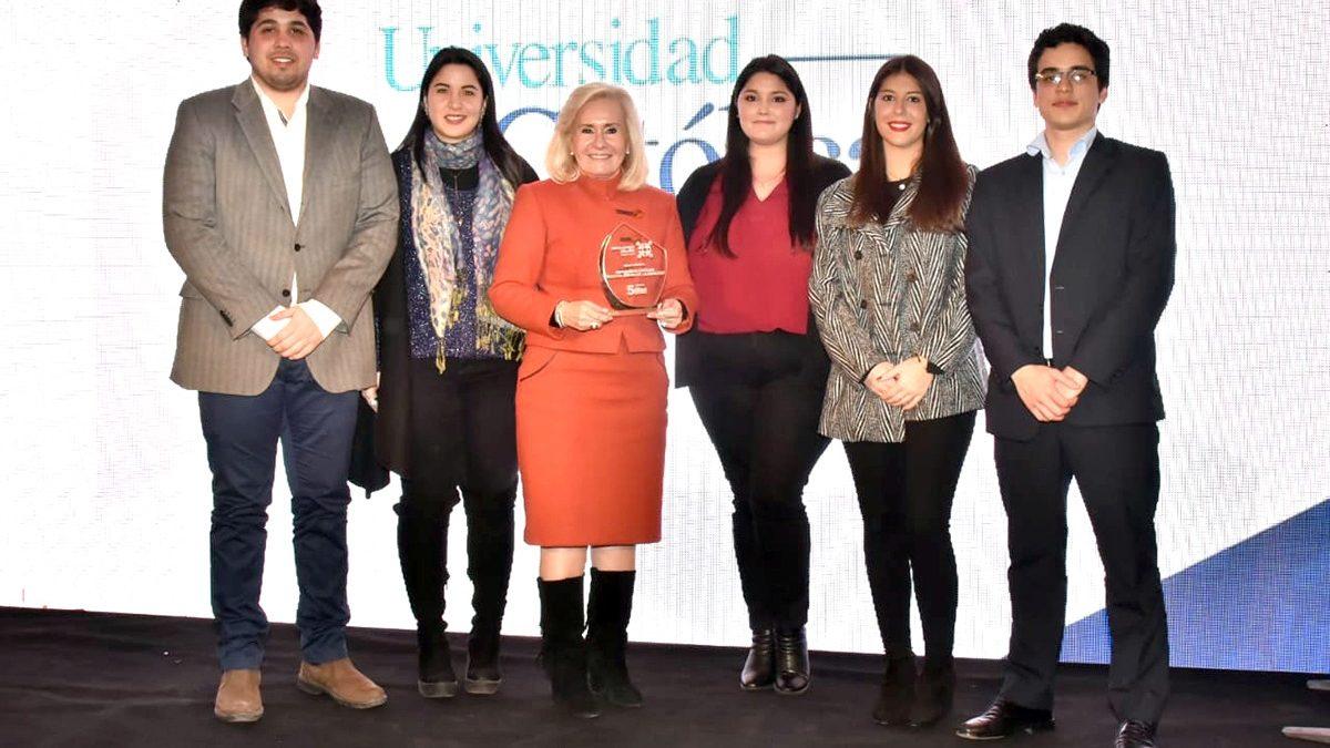 """Premio """"Empleador del año 2019"""" por tercer año consecutivo para la Universidad Católica"""