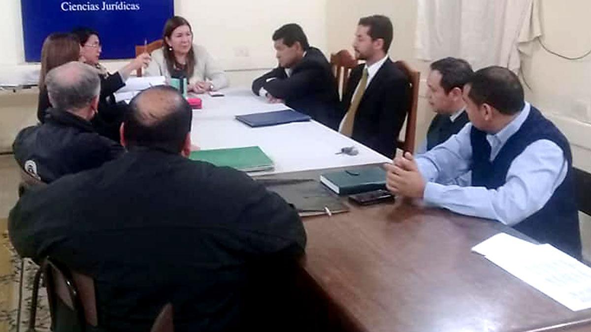 Claustro docente en Ciencias Jurídicas campus Concepción