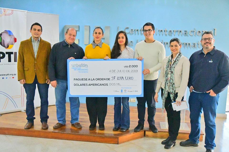 Equipo de Arquitectura de la UC Alto Paraná gana el primer lugar en el Urbatón 2019