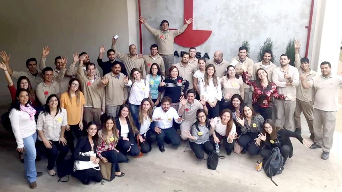 Estudiantes de Psicología Organizacional realizan taller de manejo de grupo