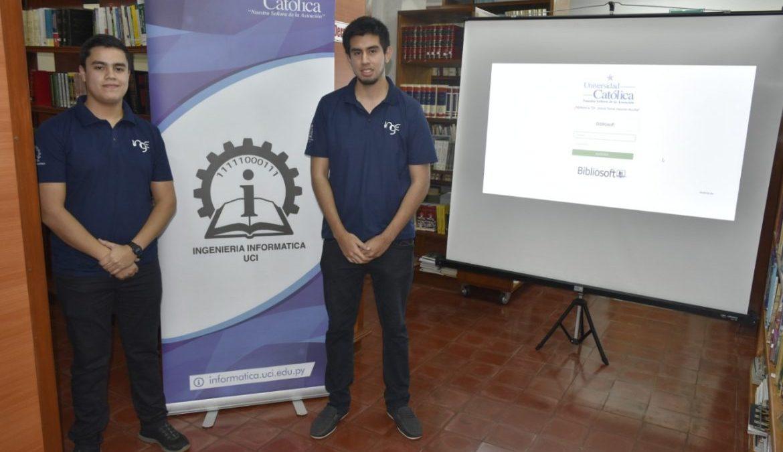 """Estudiantes de Ingeniería Informática desarrollaron """"Bibliosoft"""""""