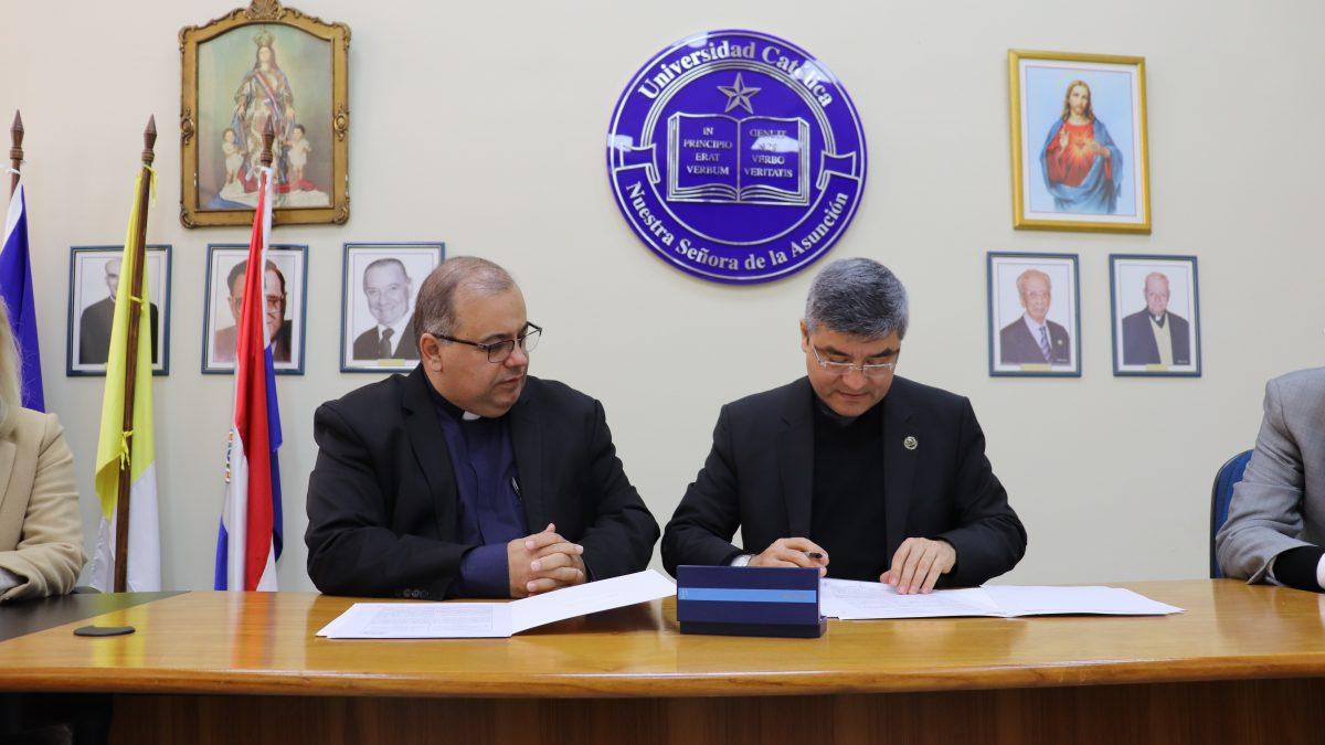 La UC firma Acuerdo de Cooperación Interinstitucional con Pró- Saúde Associação Beneficente de Assistência Social e Hospitalar
