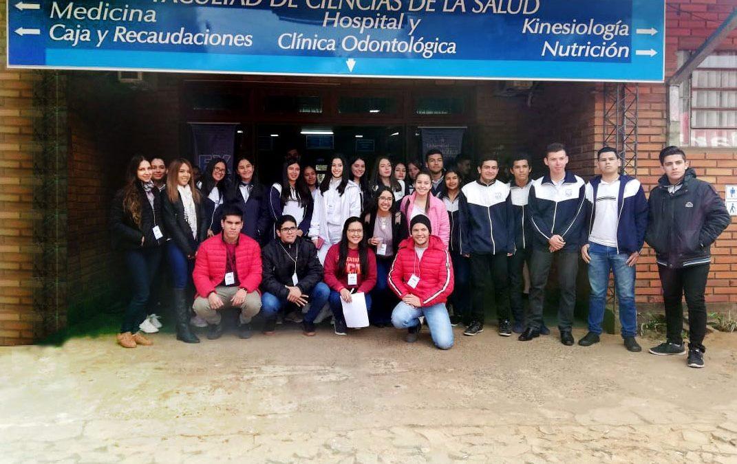 La Universidad Católica, sede Guairá realizó la Expo Carreras 2019