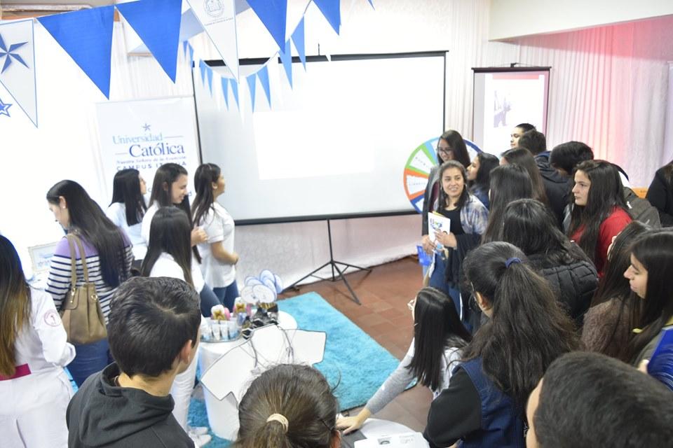 La Católica Expone en Campus Itapúa