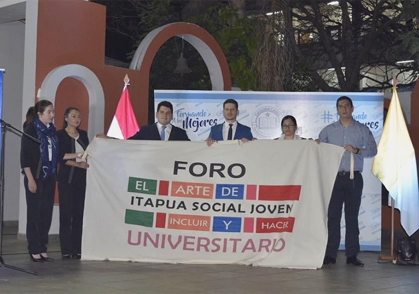 Quinto Foro Universitario 2019 en el Campus Itapúa