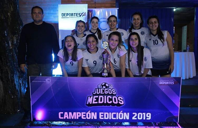 Juegos Médicos 2019 tiene a sus campeones