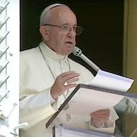 Papa Francisco: La corrupción es como la droga.