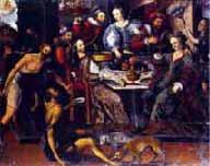 La parábola del rico epulón y el pobre Lázaro
