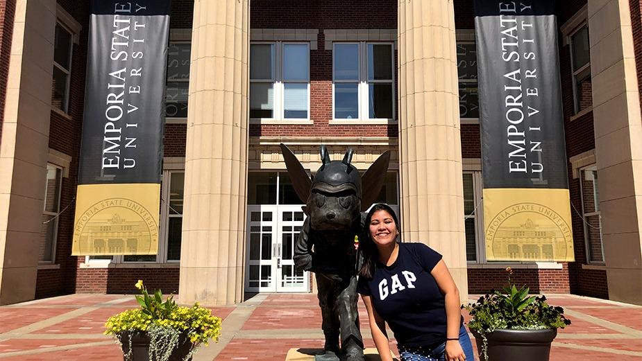 Alumna de Hohenau viajó a Kansas de Intercambio Estudiantil