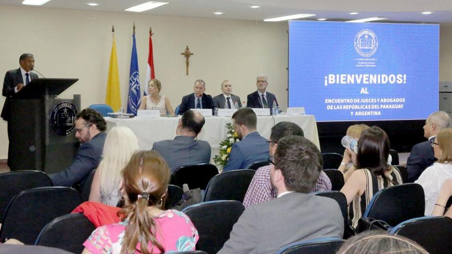 Encuentro de Jueces y Abogados de Argentina y Paraguay