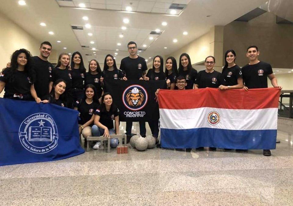 Estudiantes de Ingeniería Civil participaron del 61° Congreso Brasilero de Concreto