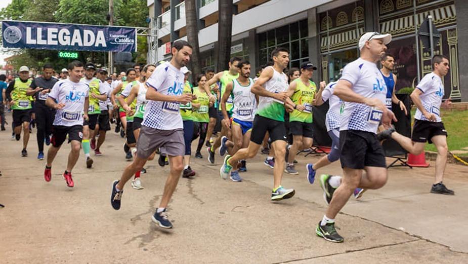 Quinta edición del UC Run en Alto Paraná
