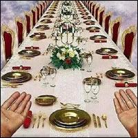 Invita a Jesús a comer en tu casa