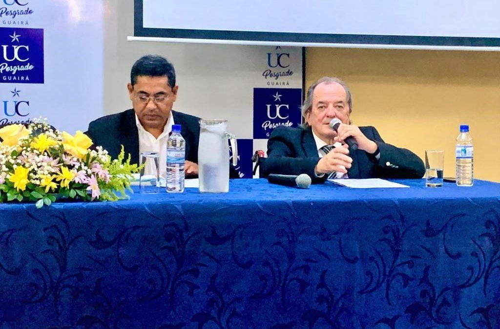 Conversatorio «La Universidad en América Latina ante los desafíos del siglo XXI» en Campus Guairá