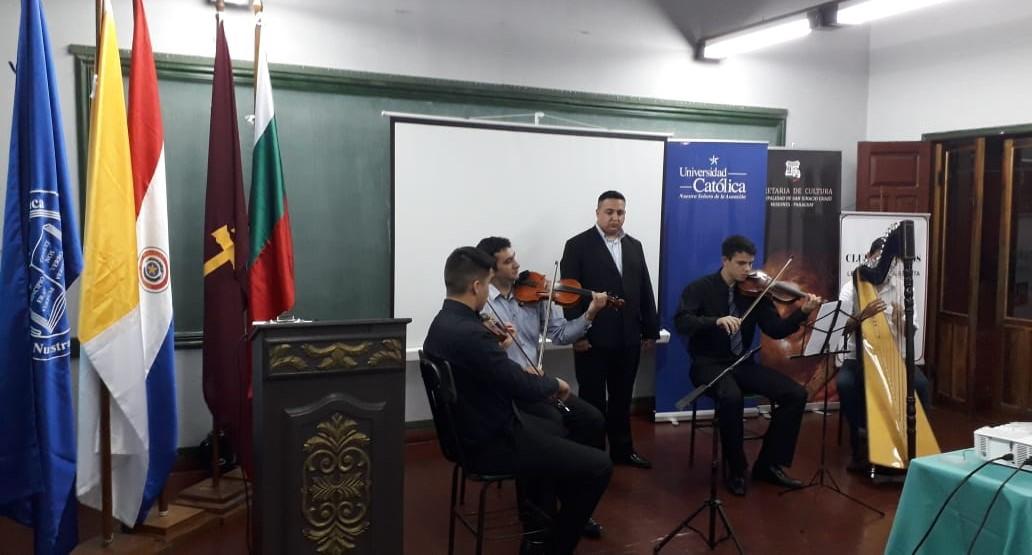 """Presentaron club de """"Revista Huellas Paraguay"""" en la Unidad Pedagógica San Ignacio Guazú"""