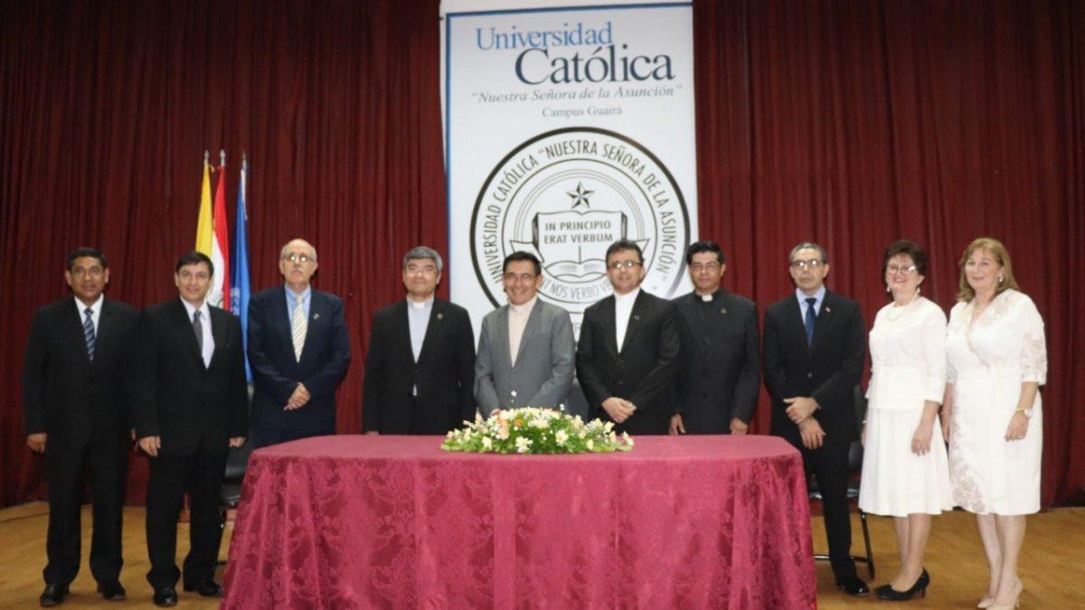 Autoridades del Campus Guairá tomaron posesión de sus cargos