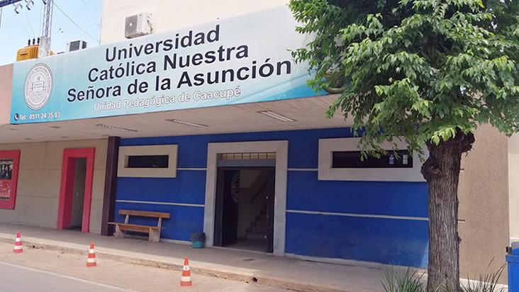 Ofertas académicas vigentes en la UC Caacupé