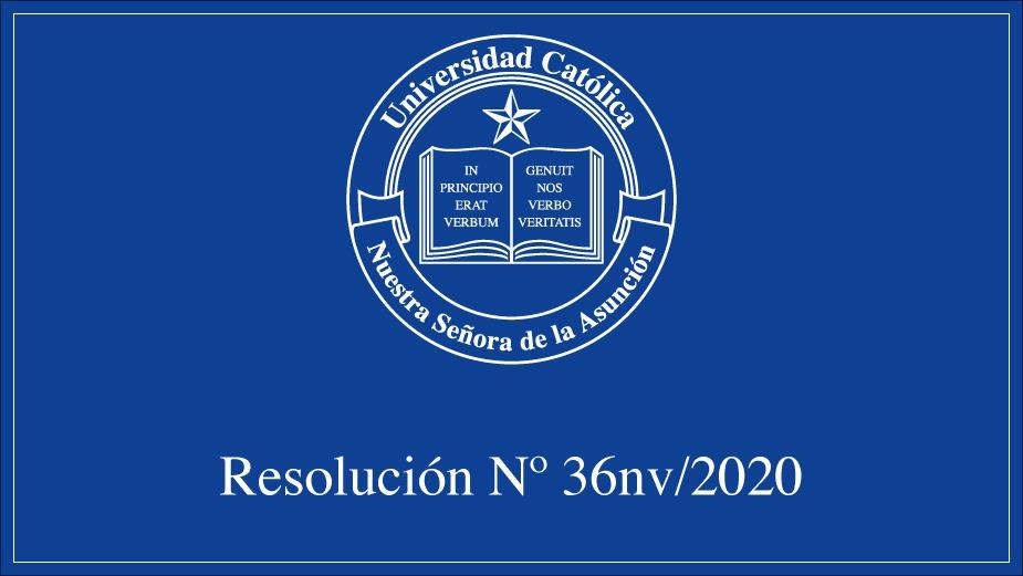 Rectorado de la UC adopta medidas para acompañar resolución del Poder Ejecutivo