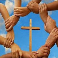 Jesús ora por sus amigos
