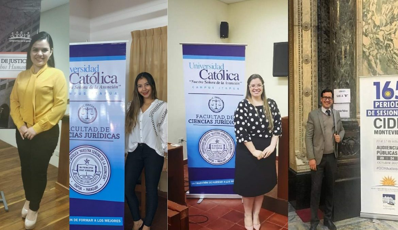 Estudiantes de Derecho ganan segundo puesto en competencia internacional de Moot Court