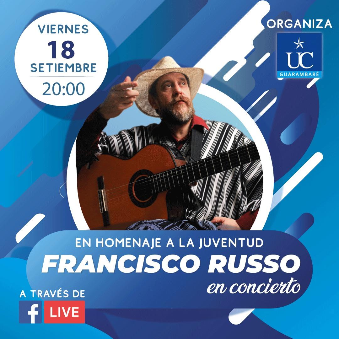 UC Guarambaré - Concierto Francisco Russo