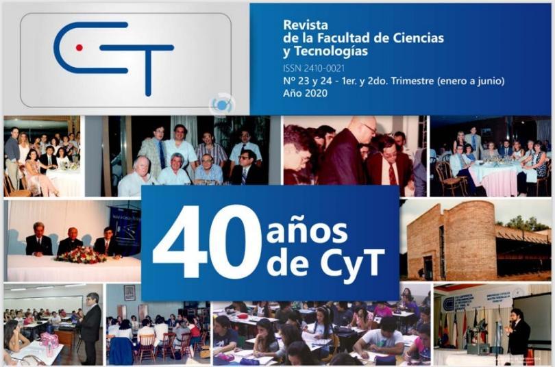 Revista CyT Edición N° 23 y 24 de la Facultad de Ciencias y Tecnología de la UC