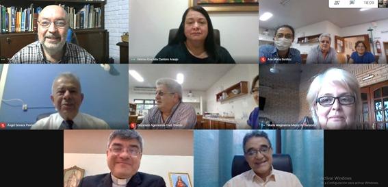 Reunión informativa en el marco del acuerdo firmado entre la UC, UNA e Itaipú