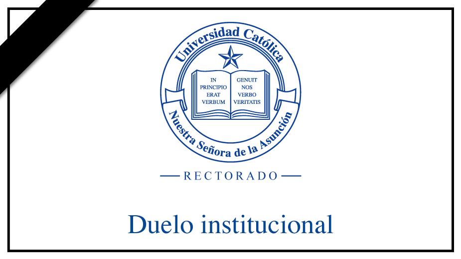 Duelo institucional por el fallecimiento de Don Narciso Velázquez Toledo, padre del Rector Narciso Velázquez