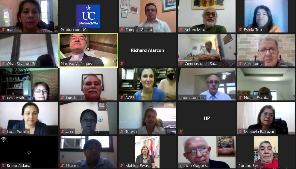 Reunión General de autoridades de la Universidad Católica de todo el país