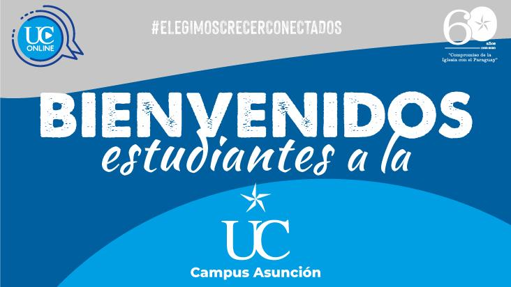 Universidad Católica- Campus Asunción: nómina de estudiantes que ingresaron en la segunda convocatoria 2020