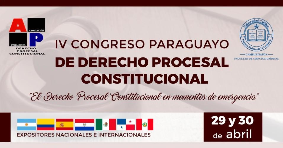 IV Congreso Paraguayo de Derecho Procesal Constitucional