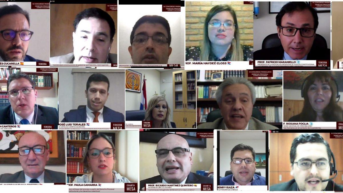 IV Congreso Paraguayo de Derecho Procesal Constitucional en Itapúa